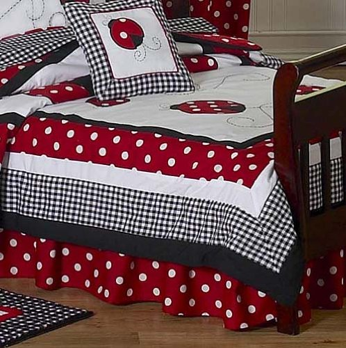 Red Toddler Bedding 8478 front