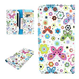 DooDa PU Leather Case Cover For Intex Cloud Y4
