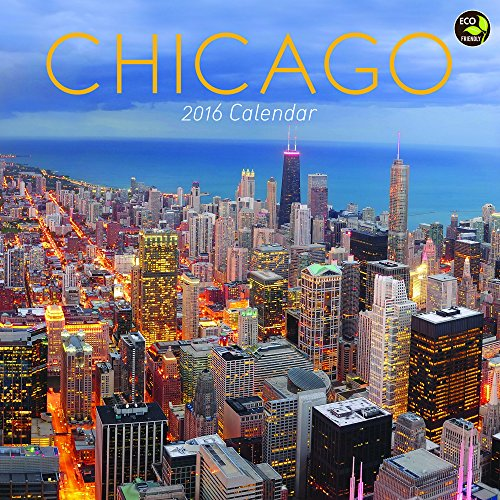 2016 Chicago Wall Calendar