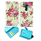G2 Case,LG G2 Case,LG g2 Case Cover Ezydigital Carryberry Leather Wallet Case & Cover for LG G2 [At&T, Sprint, T-Mobile]