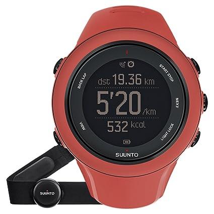 Suunto SS021469000 Ambit3 Sports Montre GPS Coral