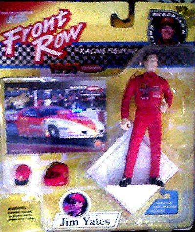 Jim Yates Drag Racing Figurines - McDonald's Racing Team - 1997 Front Row Racing Figurines