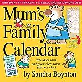 Mums Family Calendar 2015