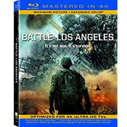 Battle Los Angeles (Mastered in 4K) (Single-Disc Blu-ray + Ultra Violet Digital Copy)