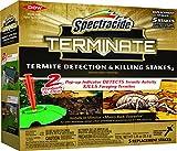 Spectracide Terminate Termite Detection & Killing Stakes2 (Refill)...