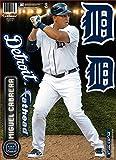MLB Detroit Tigers Miguel Cabrera Fathead Teammate Wall Decal, 8 x 16-Inch, Blue