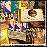 """300 Unopened Basketball Cards Collection in Factory Sealed Packs of Vintage NBA Basketball Cards From the Late 80's and Early 90's. Look for Hall-of-famers Such As Larry J. Bird, Earvin """"Magic"""" Johnson, Charles Barkley, Shaquille O'neal, Hakeem Olajuwon, Michael Jordan, David Robinson, John Stockton."""