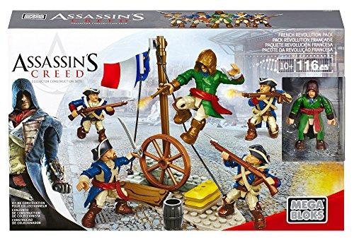 Mega Bloks Assassins Credd Französchiche Revolution Pack 116 teiligs
