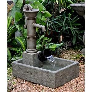 Polyresin And Fiberglass Large Water Pump