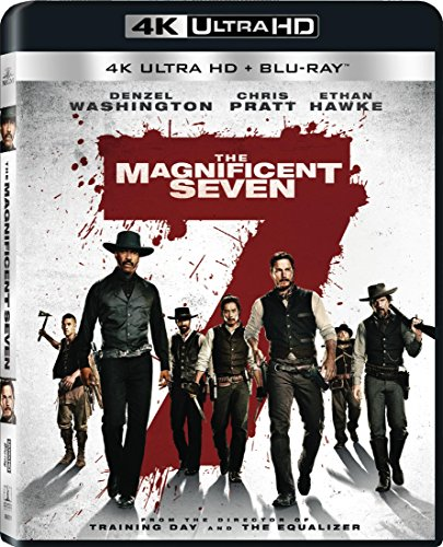 4K Blu-ray : The Magnificent Seven (With Blu-Ray, Ultraviolet Digital Copy, 4K Mastering, 2 Pack, Dolby)