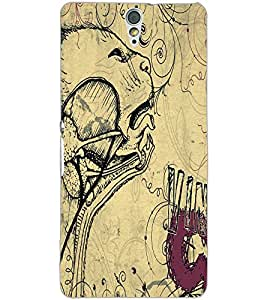 SONY XPERIA C5 SKETCH Back Cover by PRINTSWAG