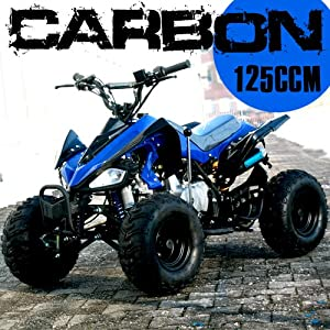 atv quad carbon 125ccm pocket bike sport. Black Bedroom Furniture Sets. Home Design Ideas