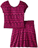 Derek Heart Big Girls Skirt-and-Top Set