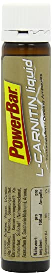 PowerBar Sporternhrung Fit'n Lite L-Carnitine Liquid,  20 Ampullen a 25ml