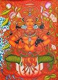 Goddess Lakshmi - Kerala Mural