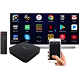 NextD Android Mini PC with Top Specs [4K, Android 7.1, S912 Octa-Core, 3GB/32GB, 2.4/5G WiFi+BT] + Unique NextD Remote App Enabling Mouse/Keyboard, MultiTouch, Motion Inputs (Color: Black, Tamaño: Android Mini PC)