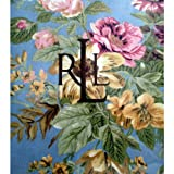 Lauren By Ralph Lauren Brittany Floral Blue Tablecloth; 70 in. Round