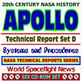 img - for 20th Century NASA History: Apollo Technical Reports - Set D, Spacecraft Systems and Program Procedures, Part Two (Six CD-ROM Set) book / textbook / text book