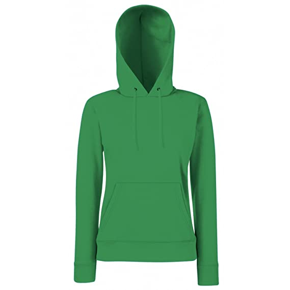 Fruit of the Loom Classic 80 20 lady-fit hooded sweat