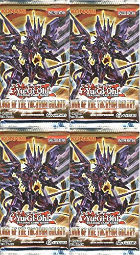 Lot of FOUR (4) Yugioh Lord of the Tachyon Galaxy Factory Sealed Booster Packs! Includes 36 Cards! - 1