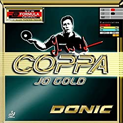 Donic Coppa JO Gold Table Tennis Rubber -Red