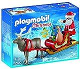 Playmobil - Navidad, trineo papá noel y reno (5590)