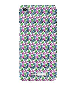 EPICCASE airy hearts Mobile Back Case Cover For Lava Iris X8 (Designer Case)