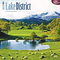 Lake District 2016 Wall, BrownTrout Publishers
