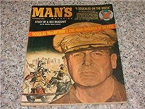 Man's Magazine Oct '60 Douglas MacArthur, Sex Braggart
