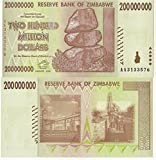 Zimbabwe Currency 200 Million $ CIRCULATED BILLS x 500 (2008)