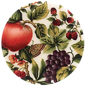 Andreas 8-Inch Silicone Trivet, Organic Fruit