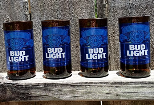 set-of-4-upcycled-bud-light-glasses