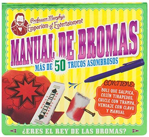 Manual De Bromas (+ Juguete) (Professor Murphy)
