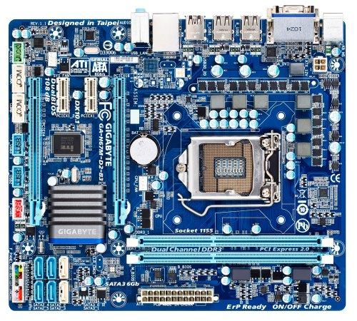 Gigabyte  SKT-1155 H67M-D2-B3 Motherboard (Rev 1.0)