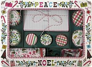 Meri Meri Merry & Bright Cupcake Gift Set