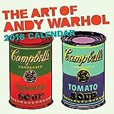Art of Andy Warhol 2016 Wall Calendar (Abrams Calendars)