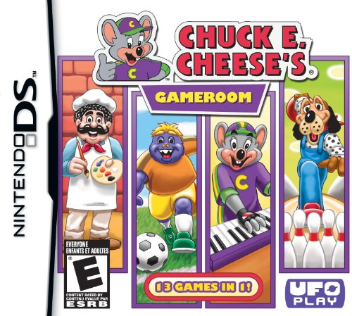 Chuck E Cheese's Gameroom - Nintendo DS (Reset Parental Controls compare prices)