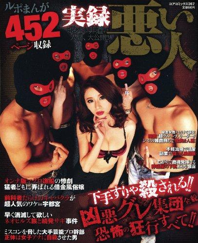 実録悪い人ホントに非道い人間、大公開!! (コアコミックス 367)