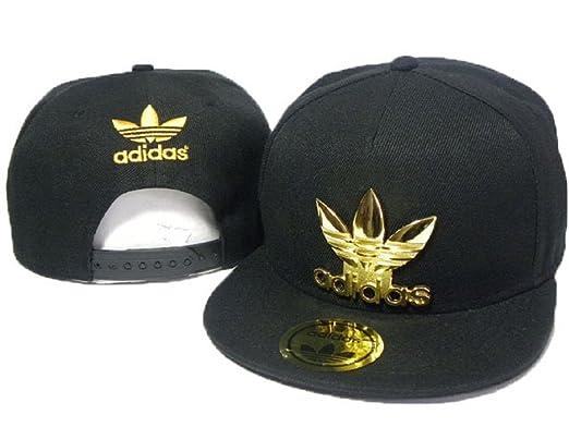 2016 Fashion Black Adidas Cap (Gold Metal Logo Mit Mode Brim ...