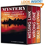 Mystery : Three Novels of Crime, Thriller and Suspense ( A Mystery Suspense Thriller box set of Adventure Mystery books and fantasy adventure books)