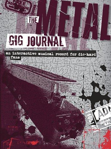 Metal Gig Journal (Gig Journals)