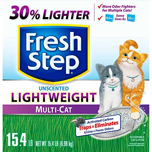 fresh-step-lightweight-unscented-multi-cat-scoopable-clumping-cat-litter-154-lbs