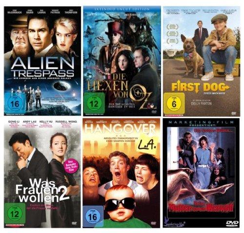 Kömodien DVD Selection (6 Hits auf 6 DVD's)