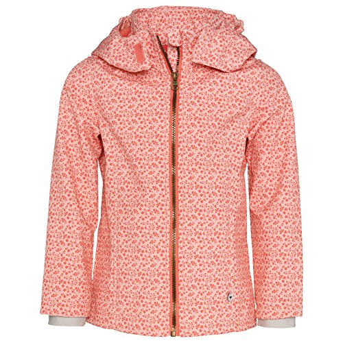 Tom Tailor Mini Girls - geblümte Softshell-Jacke - rose cotton (5457) - Gr. 128/134