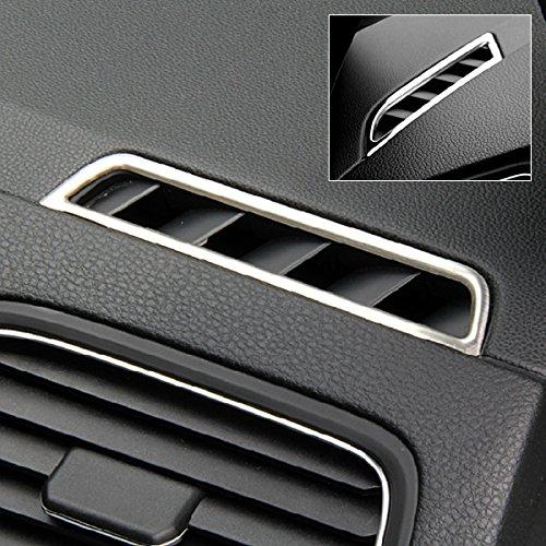 Eastar Qualitäts-Chrom Klimaanlage Outlet Zierabdeckung Sticker Trim