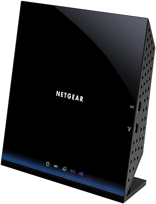 Netgear D6200-100PES Modem Routeur Wi-Fi 8C 1200 Mbps Compatible Box Internet