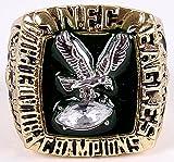 Charlie Johnson Philadelphia Eagles High Quality Replica 1980 NFC Championship Ring Size 11