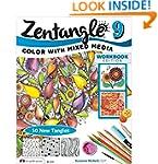 Zentangle 9: Adding Beautiful Colors...