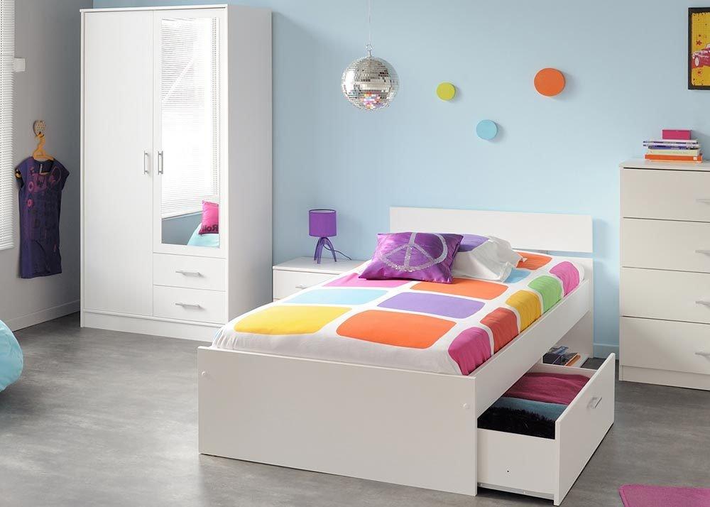 Jumbo-Möbel Kinderzimmer-Set INFINITY in Weiß 3 tlg. günstig kaufen