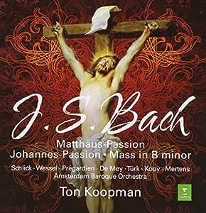 Bach : Matthaus Passion, Johannes-Passion, Mass in B minor (Coffret 7 CD)
